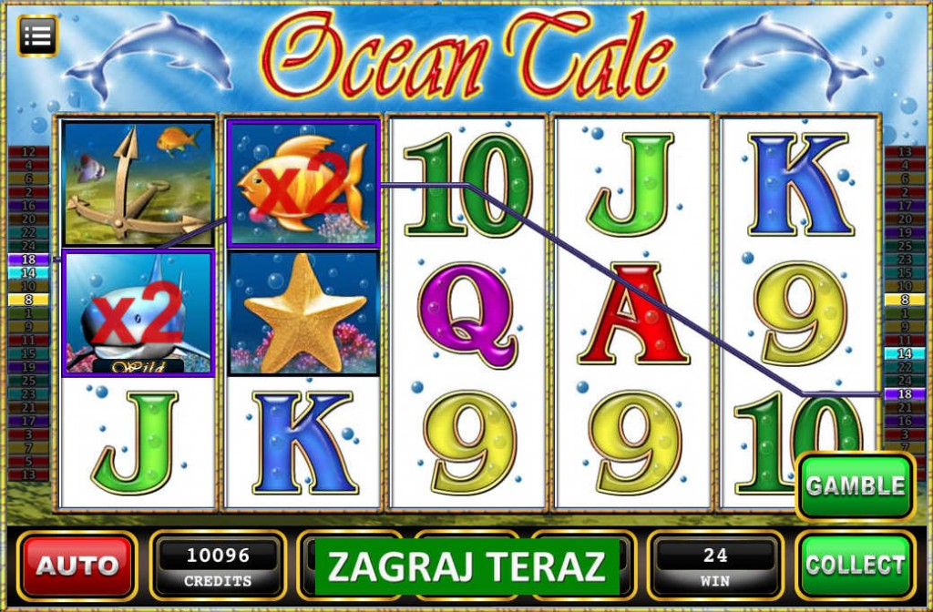 Automat do gry Ocean Tale