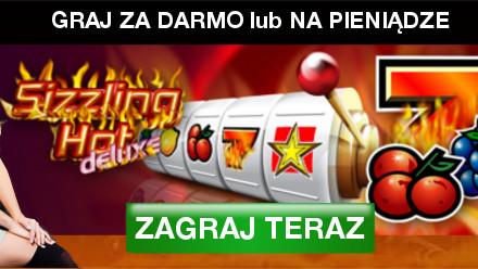 Graj w Sizzling Hot na telefonie lub tablecie i odbierz bonus powitalny w StarGames