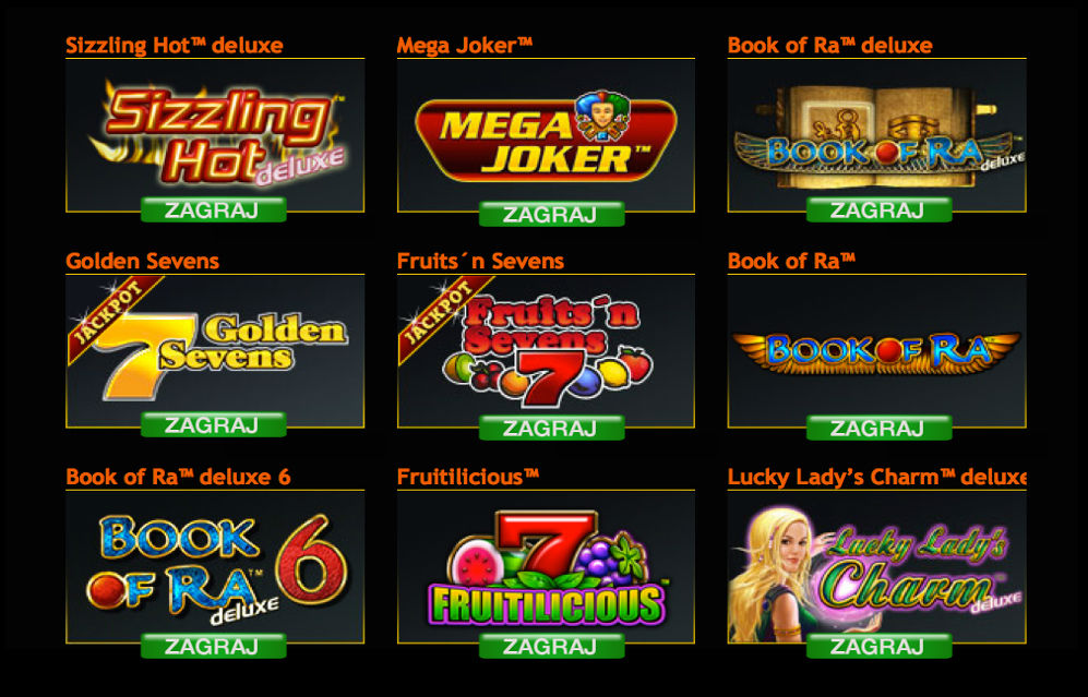 Zagraj w wersje Deluxe klasycznych automatów do gry