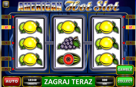 Automaty internetowe American Hot Slot