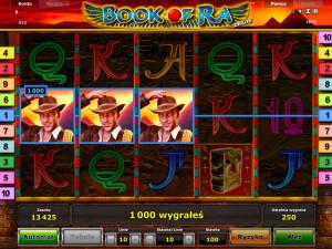 Wygrana w Book of Ra Online