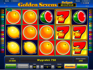 Wygrana w Golden Sevens Online