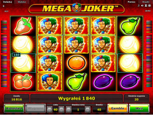 Wygrana w Mega Joker Online