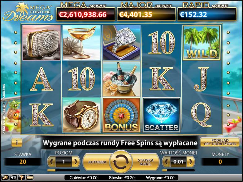 Zakręć raz i zostań milionerem dzięki grze Mega Fortune