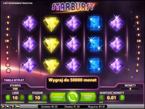 Ściągnij Starburst symulator do gry w kasynie internetowym