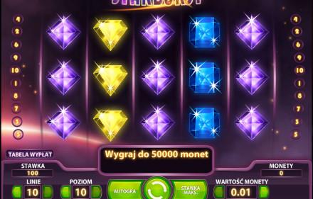 Starburst symulator do gry w kasynie internetowym