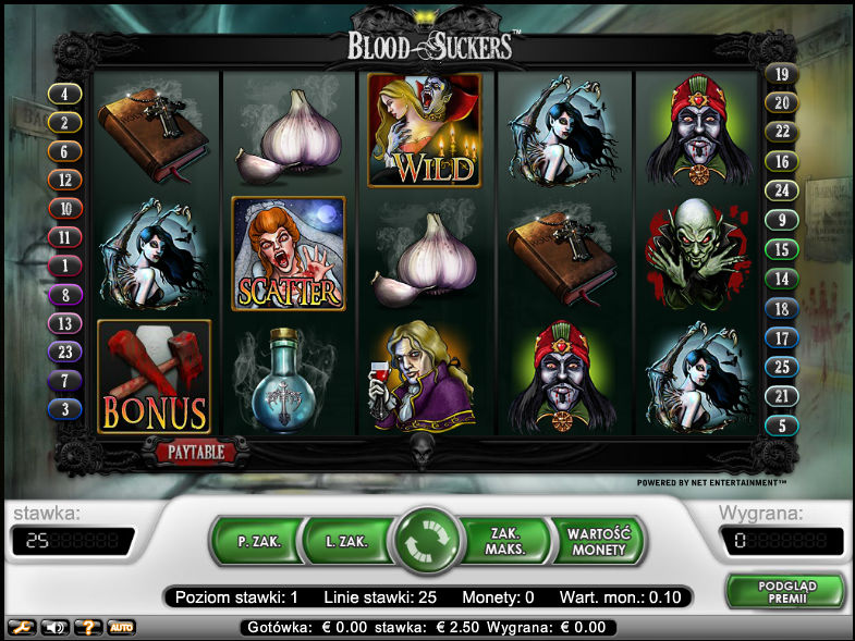 Blood Suckers download free - automat do gry online