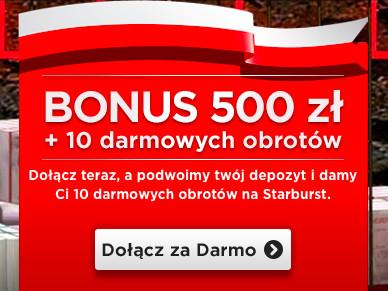 Odbierz 500 zł i 10 darmowych spinów na start w kasynie Royal Panda