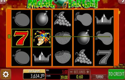 Zagraj w Automaty Hazardowe Magic Target przez internet