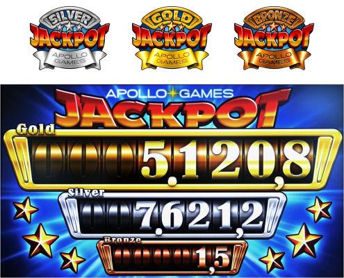 Automaty hazardowe Apollo Games - symulatory maszyn do gry jednoręki bandyta