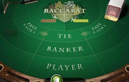Zagraj w Baccarat online