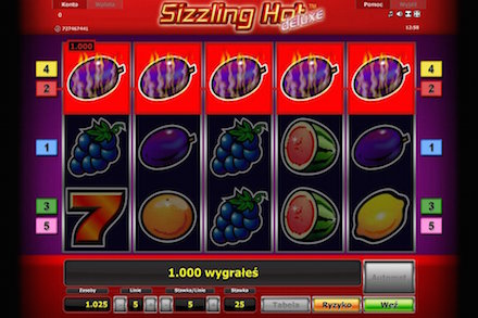 Wideo automat do gry Sizzling Hot