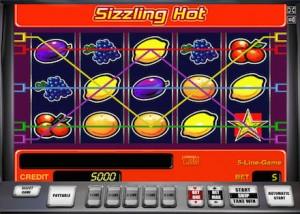 Zagraj w wersje barową automatu Sizzling Hot