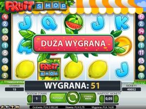 Zagraj na maszynie Fruit Shop w kasynie Mr Green