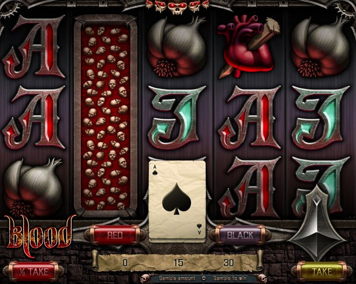 Automat do gry Blood od Apollo Games