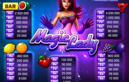 Automaty Apollo Games gra hazardowa Magic Lady - Odbierz bonus w kasynie online