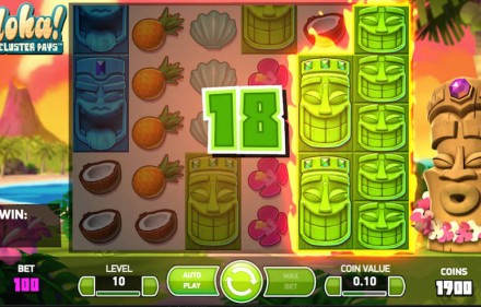 Zagraj za darmo w grę hazardową Aloha Cluster Pays bez rejestracji