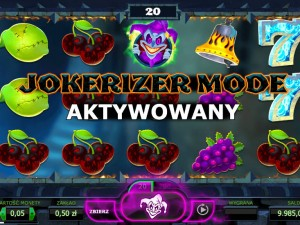 Automat hazardowy do gry Jokerizer w kasynie Mr Green