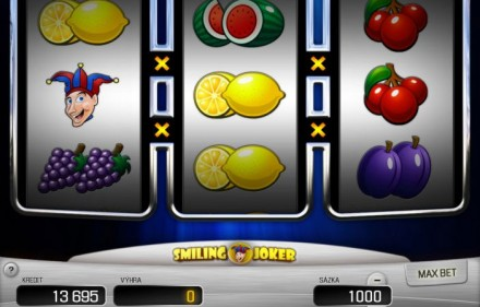 Automat Jednoręki Bandyta do gry Smiling Joker od Apollo Games