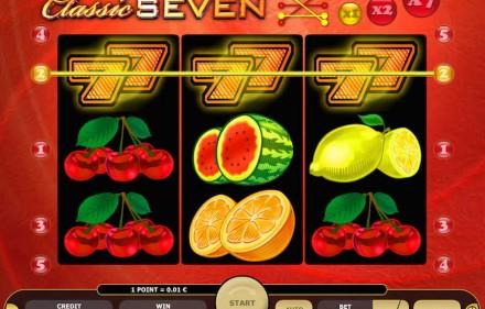 Zagraj w Classic Seven Online w Kasynie Kajot - Odbierz €5 bez depozytu