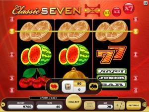 Zagraj na maszynie hazardowej Classic Seven online w Kajot Casino