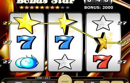 Zagraj w darmowe gry hazardowe Kajot - Odbierz bonus bez depozytu i graj na automacie Bonus Star online za darmo o prawdziwe pieniadze