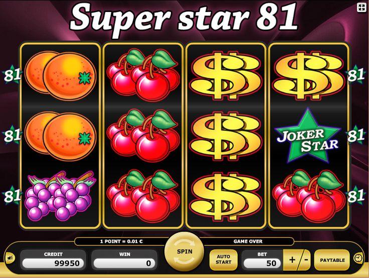 Automat do gry hazrdowej Super Star 81 - Zagraj teraz!