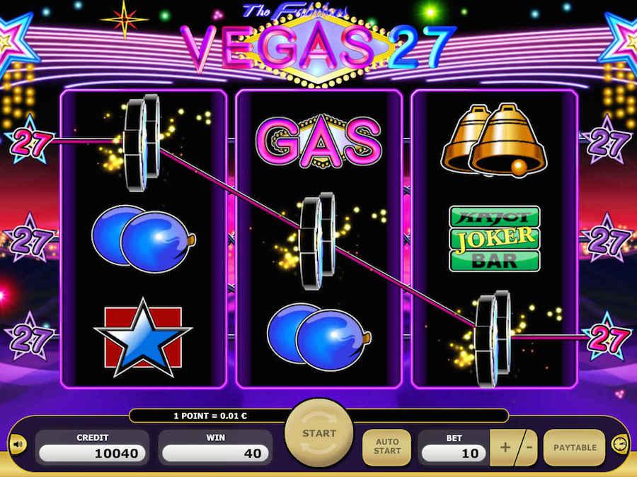 Zagraj w Vegas 27 online w kasynie Kajot i odbierz €5 na start bez depozytu