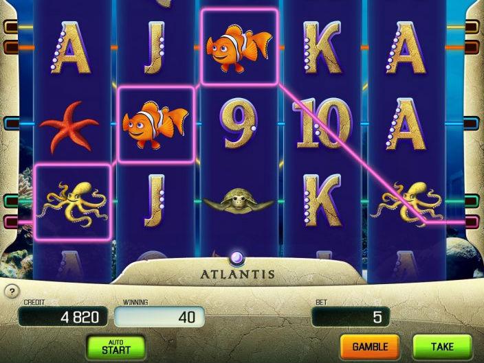 Zagraj w Atlantis maszynę hazardową - sprawdź automaty Apollo Games online