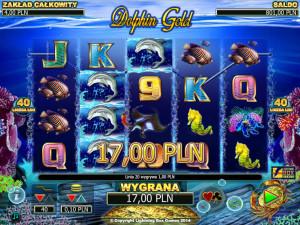 Zagraj na automacie hazardowym do gry Dolphin Gold online