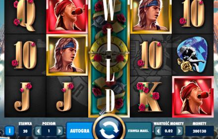 Zagraj na maszynie hazardowej do gry Guns n' Roses i wygraj prawdziwe pieniądze