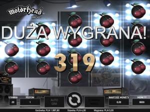 Zagraj online na automacie hazardowym Motörhead i odbierz bonus