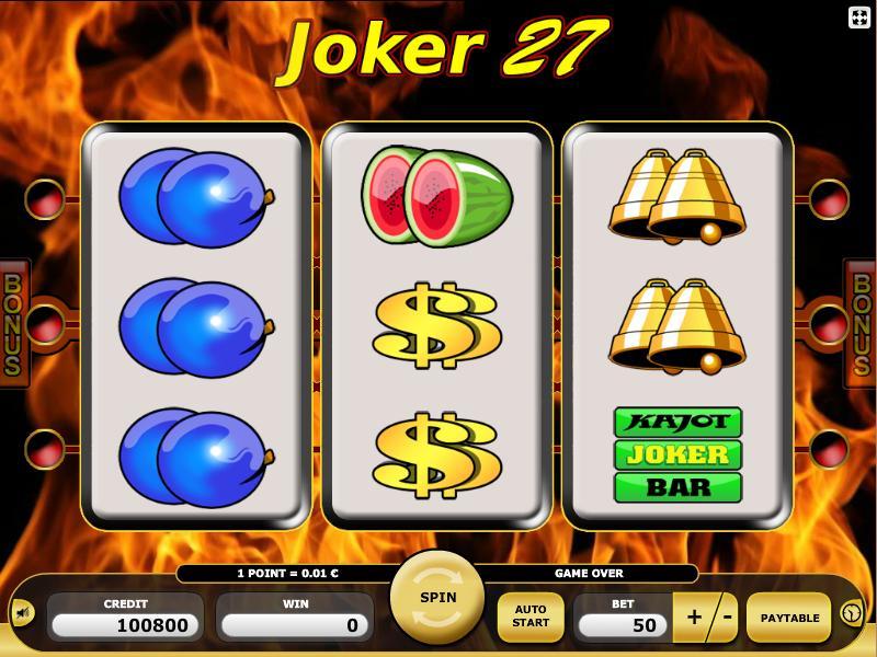 kajot joker 27 gra online