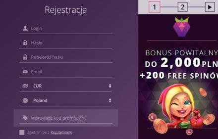 malina-casino-rejestracja