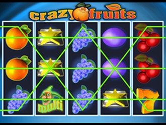 Crazy Fruits slot machine online
