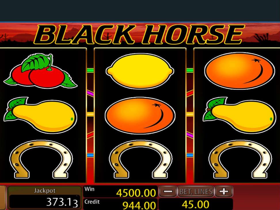 Automat Black Horse online gra za darmo