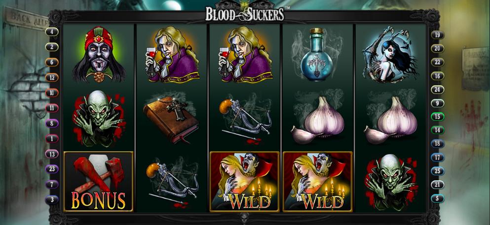 blood suckers slot online