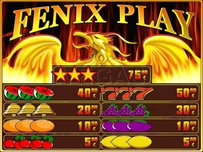 fenix play automat