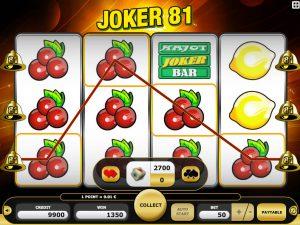 Joker 81 automat do gry Kajot online
