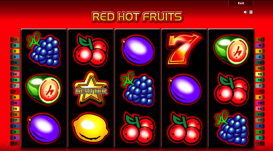 red hot fruits online