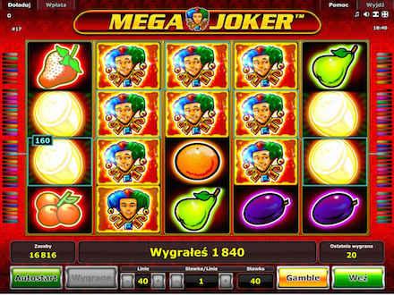 Mega Joker Online gra flashowa